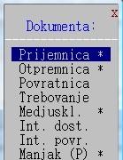 Izbor robnih dokumenata