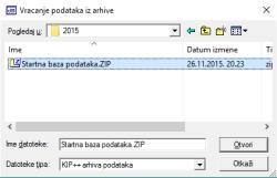Startna baza podataka