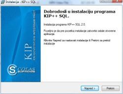 Instalacija prorama KIP 1