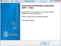 Instalacija prorama KIP 9